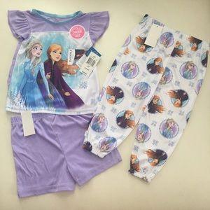 Disney Frozen Elsa 3pc Pajama Set